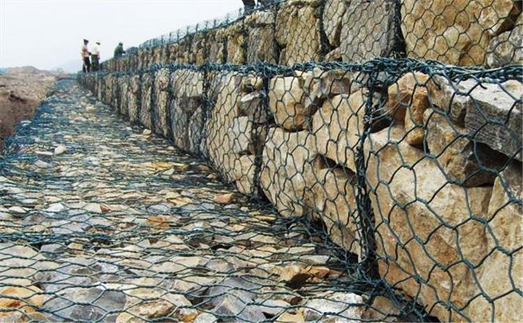 石笼网道路铺设