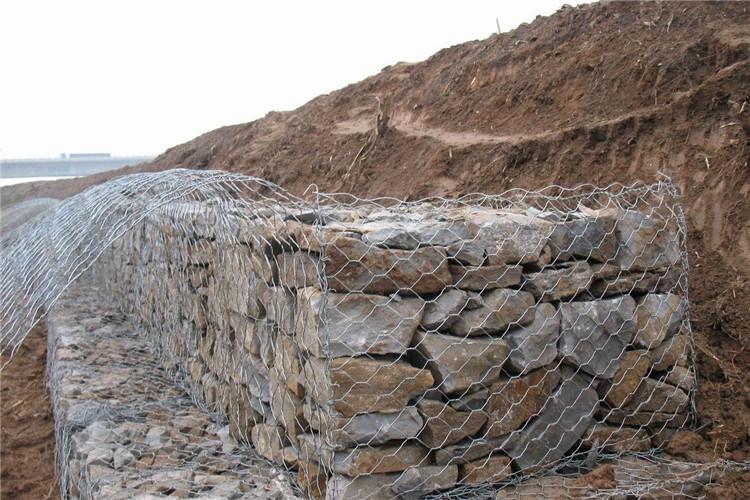 河提石笼网工程